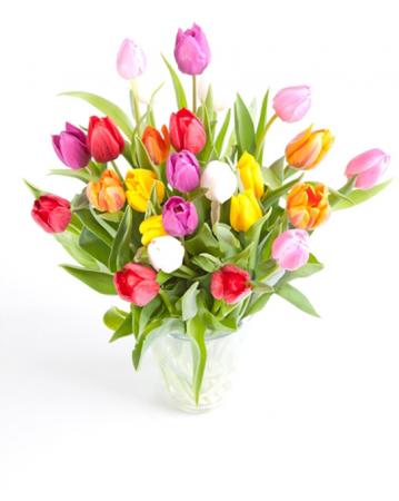 Dancing Tulips Floral Arrangement