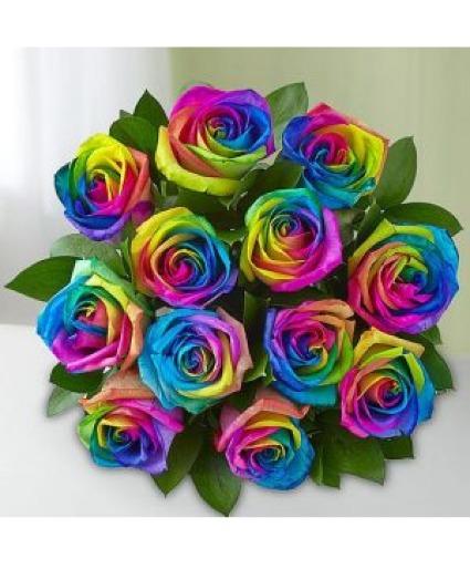 Kalediscope Rose Bouquet Roses Bouquet