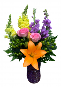 Burst of Glee Vase Arrangement