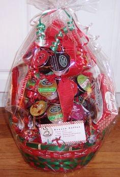 K-Cup Carousel Gift Basket Christmas Coffee Basket in Hampton Falls ...
