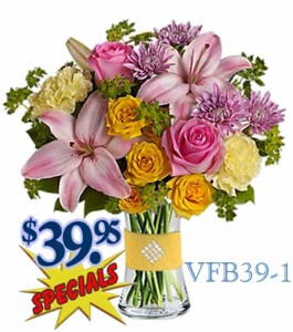 Keep Smiling Floral Arrangement