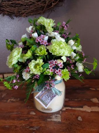 Keeper of the light arrangement  Vase arrangement