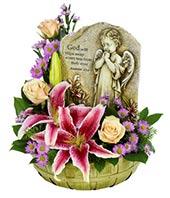 Keepsake Floral Setting Flower Basket in Coleman, WI   COLEMAN FLORAL & GREENHOUSES