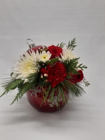 Keepsake Ornament Table Topper Christmas