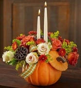 Keepsake Pumpkin Centerpiece