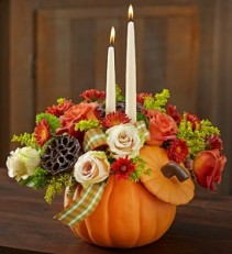 Candle Keepsake Pumpkin $55.95, $60.95,