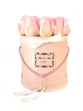 Grace Floral Hat Box