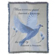 KEEPSAKE MEMORIAL THROW  Multiple designs available