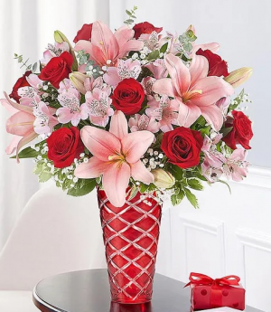 Key To My Heart® Arrangement in Croton On Hudson, NY   Cooke's Little Shoppe Of Flowers