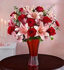Key to my Heart vase design