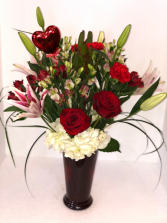Key To Your Heart Valentine Arrangement
