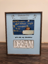 Kindergarten dream frame Engraved especially for you