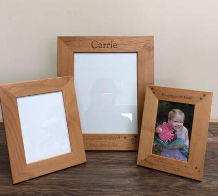 Kindergarten frames Engraved especially for you