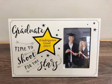 Kindergarten grad frame Engraved especially for you