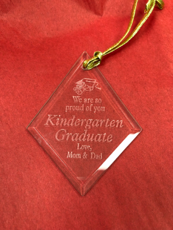 Kindergarten suncatcher Engraved especially for you