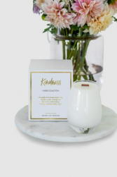 Kindness Candle (flowers not included) Special Products