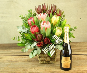 King and Queen  Proteas   in Oakville, ON | ANN'S FLOWER BOUTIQUE-Wedding & Event Florist