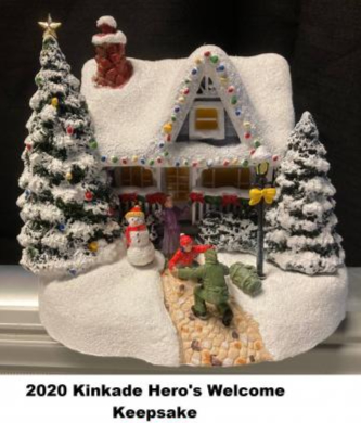 Kinkade 2020 Hero's Welcome Keepsake Holiday