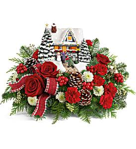 Thomas Kinkade's Hero's Welcome Keepsake Arrangement