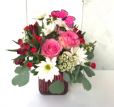 Kiss Me Bouquet Fresh Vase Arrangement