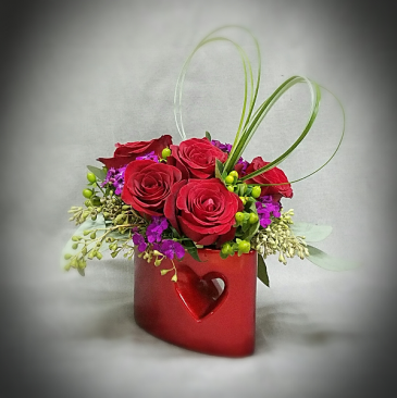 KISS ME BOUQUET ROSE VASE