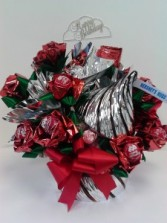 Kiss me  Candy Bouquet