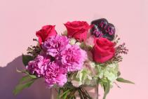Kiss Me Pink Cube Arrangement