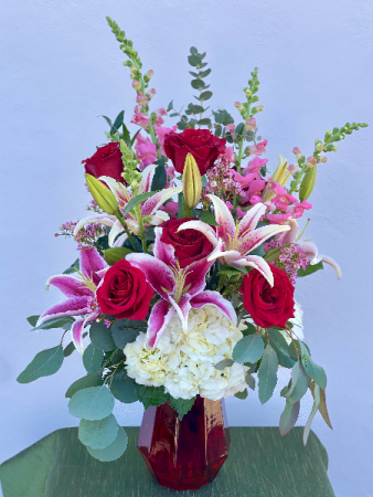 Ruby Red Powell Florist Exclusive