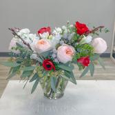 Kiss Vase Arrangement