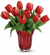 KISSED BY TULIPS ARRANGEMENT