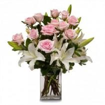 Kisses Fresh Flower Arrangement