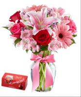 Kisses and Hugs bouquet / standard size only Floral arrangement