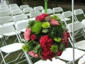 Kissing Ball Wedding Flowers
