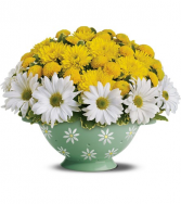 Kitchen Lovers Ceramic Daisy Colander