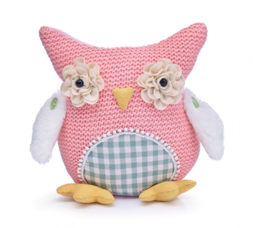 Knitted Owl Weighted Stuffed Animal Stuffed Animal