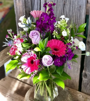 MIXED SPRING BOUQUET Variety of colorful in-season flowers in Hurricane, UT | Wild Blooms