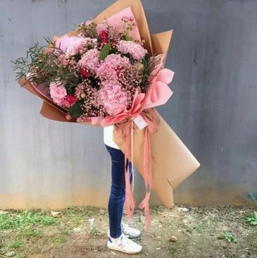 Korean Style Giant Lovely Bouquet **PRE-ORDER 5-6 DAYS ADVANCE**
