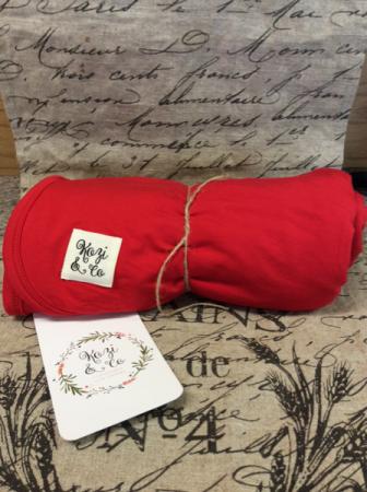 Kozi & Co Red Blanket