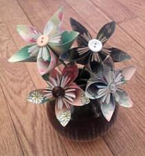 Kusudama Flower Arrangement Origami Paper Flowers In Anderson Sc