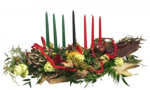 KWANZAA CENTERPIECE  in Wellington, CO | WELLINGTON FLOWERS and MORE