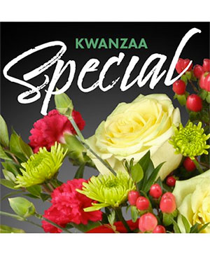 Kwanzaa Special Designer's Choice in Terre Haute, IN | Baesler's Floral Market