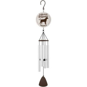 Labrador People Windchime 27 inches (other breeds available)