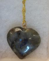 Labradorite Heart Pendant Jewelry