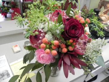 Lace & Love Wedding bouquet