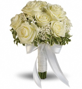 Lacy Rose Bouquet  Hand Tied Bouquet