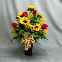Ladies in the Sun vase