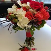 Lady in Red   Hand Held Bouquet