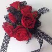 Lady in Red Wrist Corsage