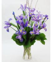 Lady Iris Floral Arrangment