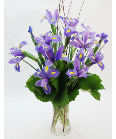 Lady Iris Floral Arrangment
